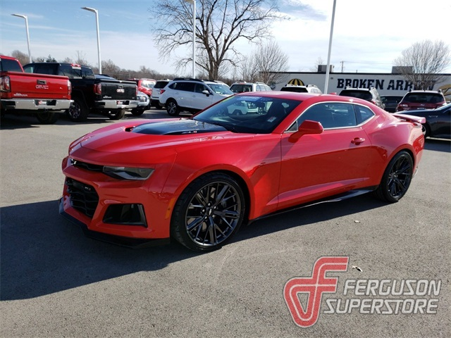 Pre Owned 2018 Chevrolet Camaro Zl1 2d Coupe In Broken Arrow
