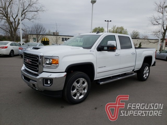 New 2018 GMC Sierra 2500HD SLT 4D Crew Cab in Broken Arrow ...
