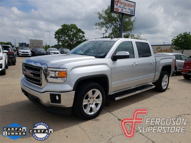 Certified Pre Owned 2014 Gmc Sierra 1500 Sle 4d Crew Cab In Broken
