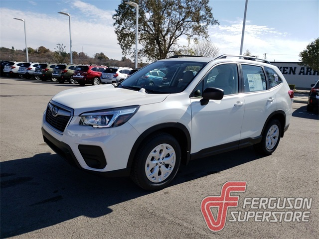 New 2019 Subaru Forester Base 4d Sport Utility In Broken Arrow