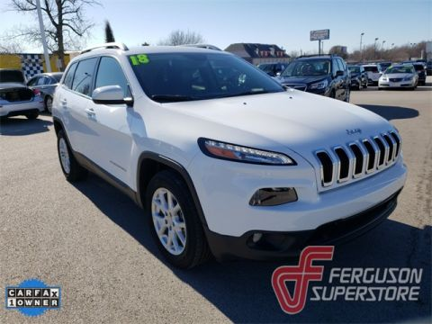 Pre-Owned 2018 Jeep Cherokee Latitude Plus FWD 4D Sport Utility