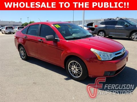 Pre-Owned 2011 Ford Focus SE FWD 4D Sedan