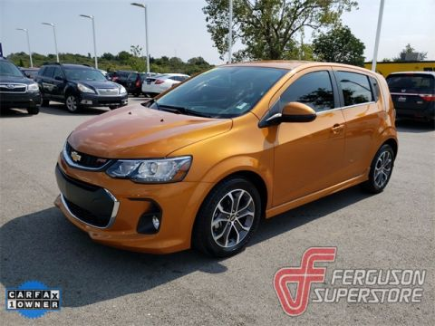Pre-Owned 2017 Chevrolet Sonic LT FWD 4D Hatchback