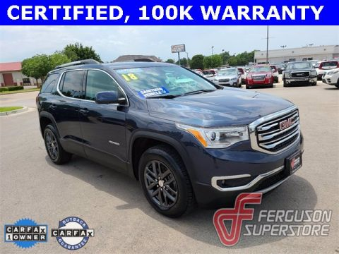 Certified Pre-Owned 2018 GMC Acadia SLT-1 AWD