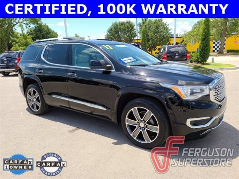 Certified Pre-Owned 2017 GMC Acadia Denali With Navigation & AWD