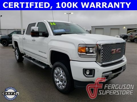Certified Pre-Owned 2016 GMC Sierra 2500HD Denali With Navigation & 4WD