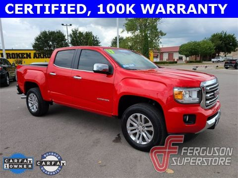 Certified Pre-Owned 2017 GMC Canyon SLT 4WD