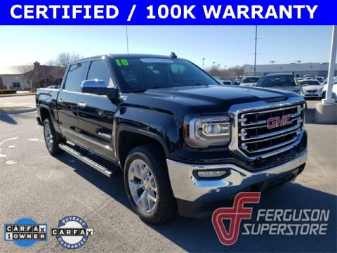 Certified Pre-Owned 2018 GMC Sierra 1500 SLT 4WD