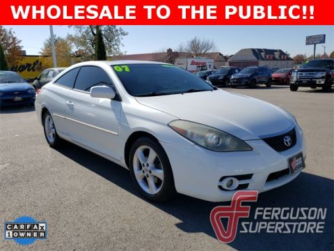 Pre-Owned 2007 Toyota Camry Solara SLE FWD 2D Coupe