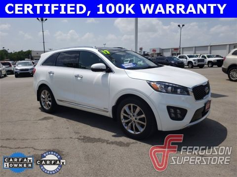 Certified Pre-Owned 2017 Kia Sorento SXL With Navigation & AWD