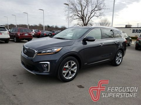 New 2019 Kia Sorento SX With Navigation & AWD