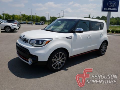 New 2019 Kia Soul Exclaim FWD 4D Hatchback