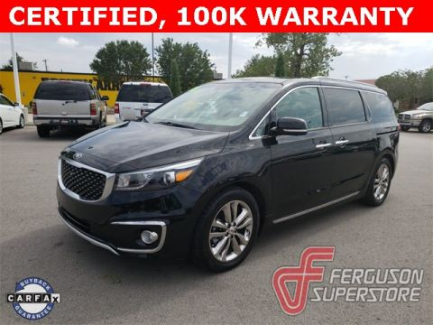 Certified Pre-Owned 2018 Kia Sedona SX Limited With Navigation